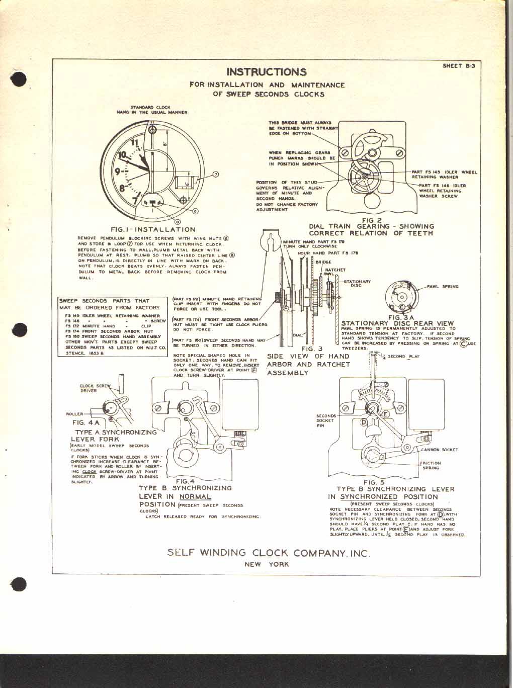 Ftl Design Electric Clocks Self Winding Clock Company